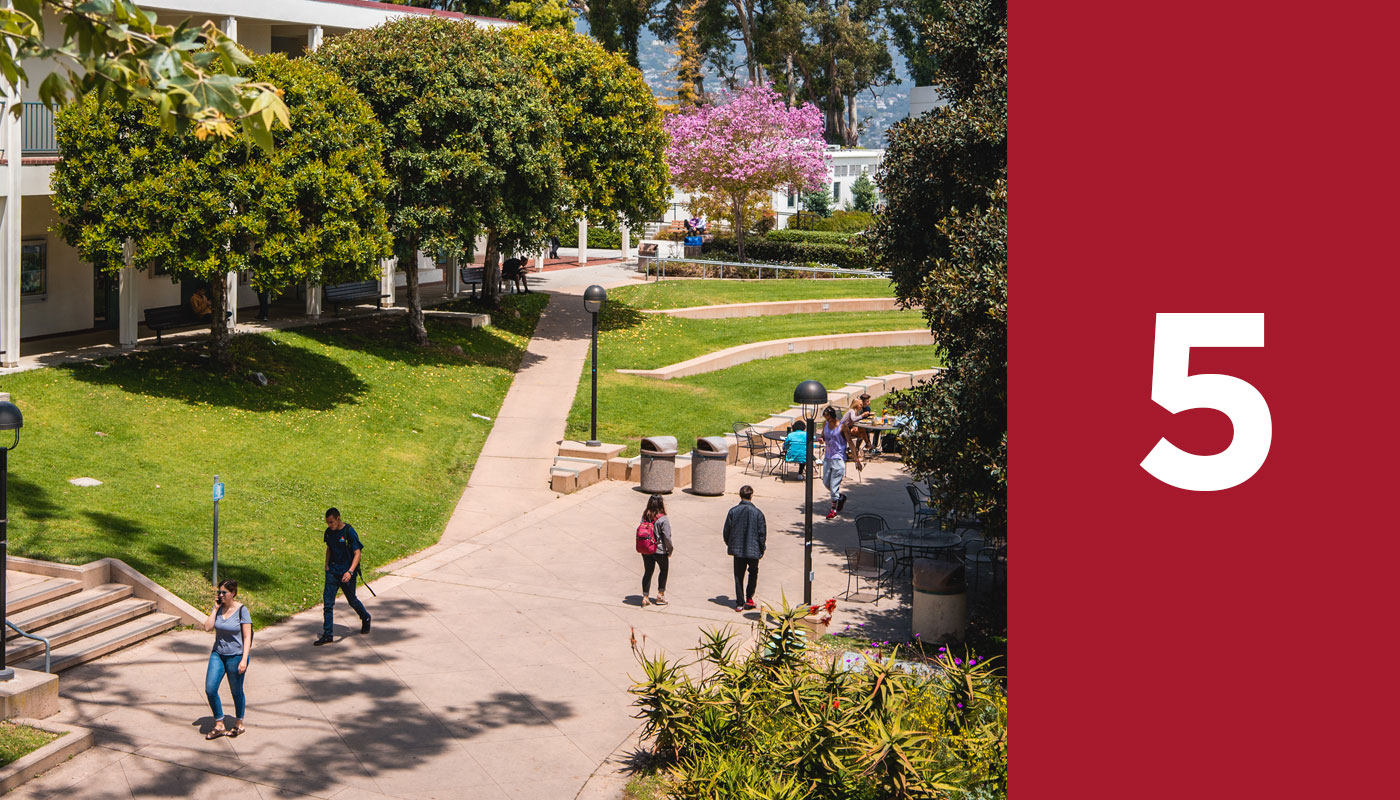SBCC's steps to enrollment, step five