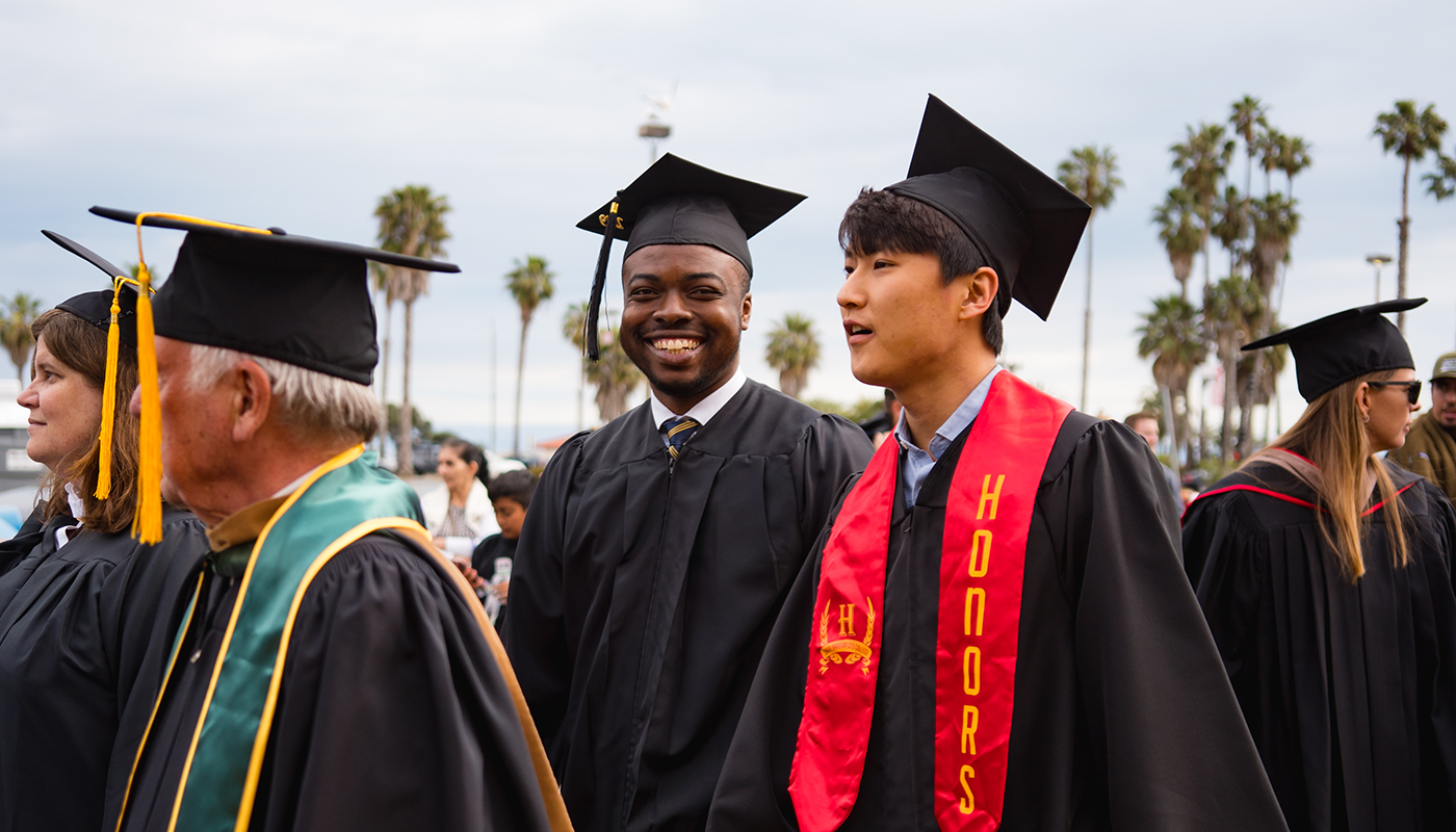 SBCC honors students at graduation.